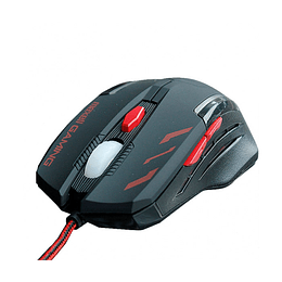 Mouse Maxell  Gaming Illuminated Black/Red