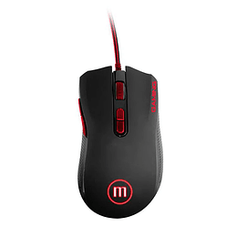 Mouse Maxell Gaming Mxg Black/Red