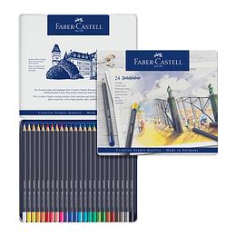 Colores Gold Faber-Castell Permanente x 24 Unidades