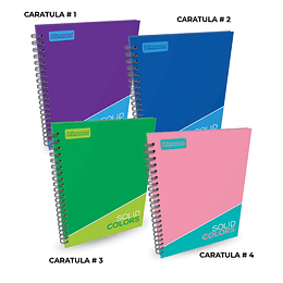 Cuaderno Catedrático Pasta Dura Cuadros