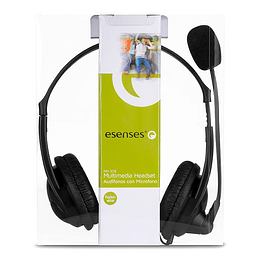 Audífonos Con Micrófono Tipo Diadema Esenses MH-306