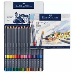 Colores Gold Faber-Castell permanente x 48 Unidades