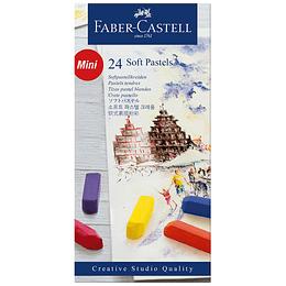 Tiza Pastel Corta Faber-Castell x 24 Unidades