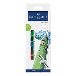 Oleos Faber-Castell x 12 Tubos 12ml