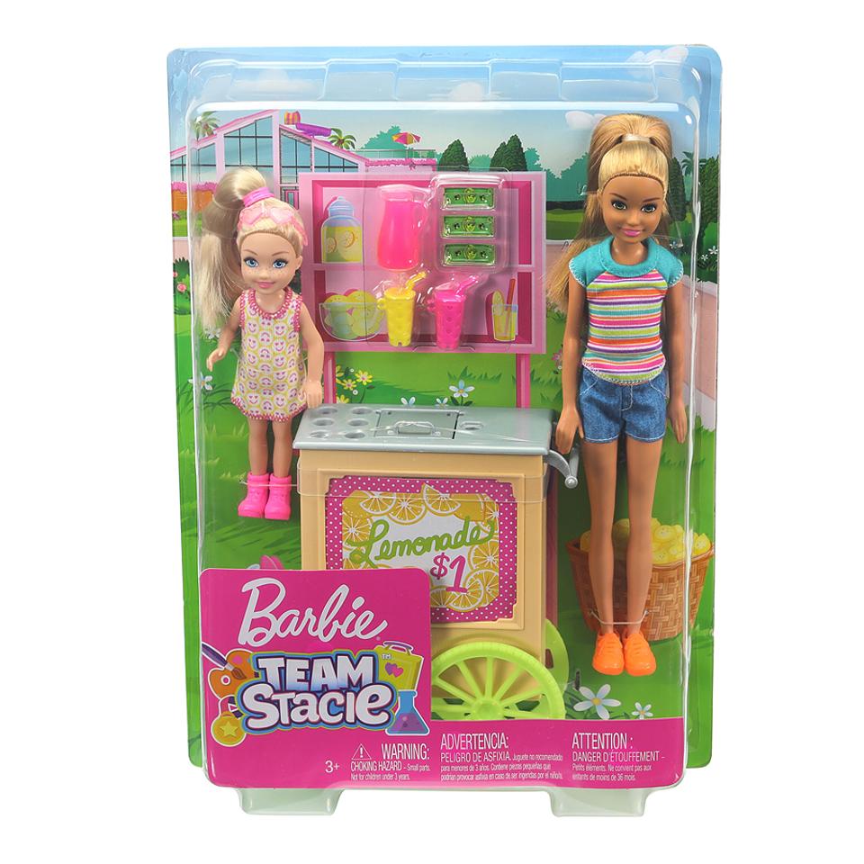 Barbie Familia Puesto de Limonada