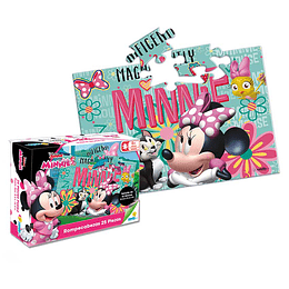 Rompecabezas X 25 Piezas Minnie Mouse