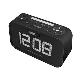 Radio Reloj Maxell Crp-500 Bluetooth Con Proyector