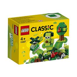 Lego Clasicc Ladrillos Creativos Verdes