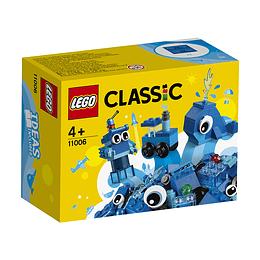 Lego Clasicc Ladrillos Creativos Azules