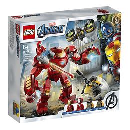 Lego Marvel Vengadores: Anti-Hulk De Iron Man Vs. Agente De A.I.M.