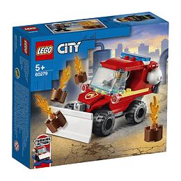 Lego City: Camioneta De Asistencia De Bomberos