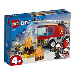 Lego City: Camión De Bomberos Con Escalera
