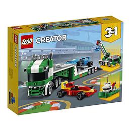 Lego Creator 3 En 1 Transporte De Coches De Carreras