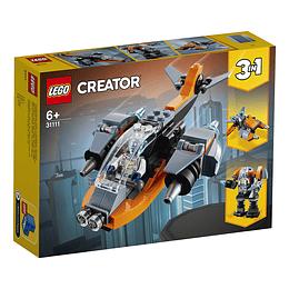 Lego Creator 3 En 1 Ciberdrón