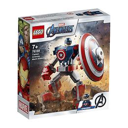 Lego Marvel Vengadores Armadura Robótica Del Capitán América