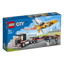 Lego City: Camión De Transporte Del Jet Acrobático
