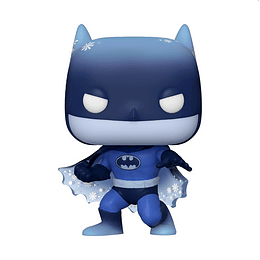 Pop Heroes: Dc Holiday Silent Knight Batman Fig. Vinil