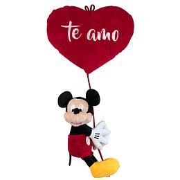 Peluche Mickey Colgando Corazón