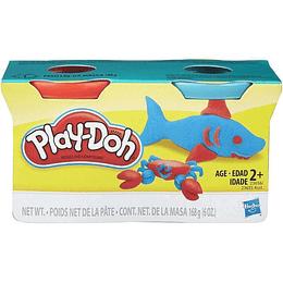 Play Doh Neón Empaque x 2
