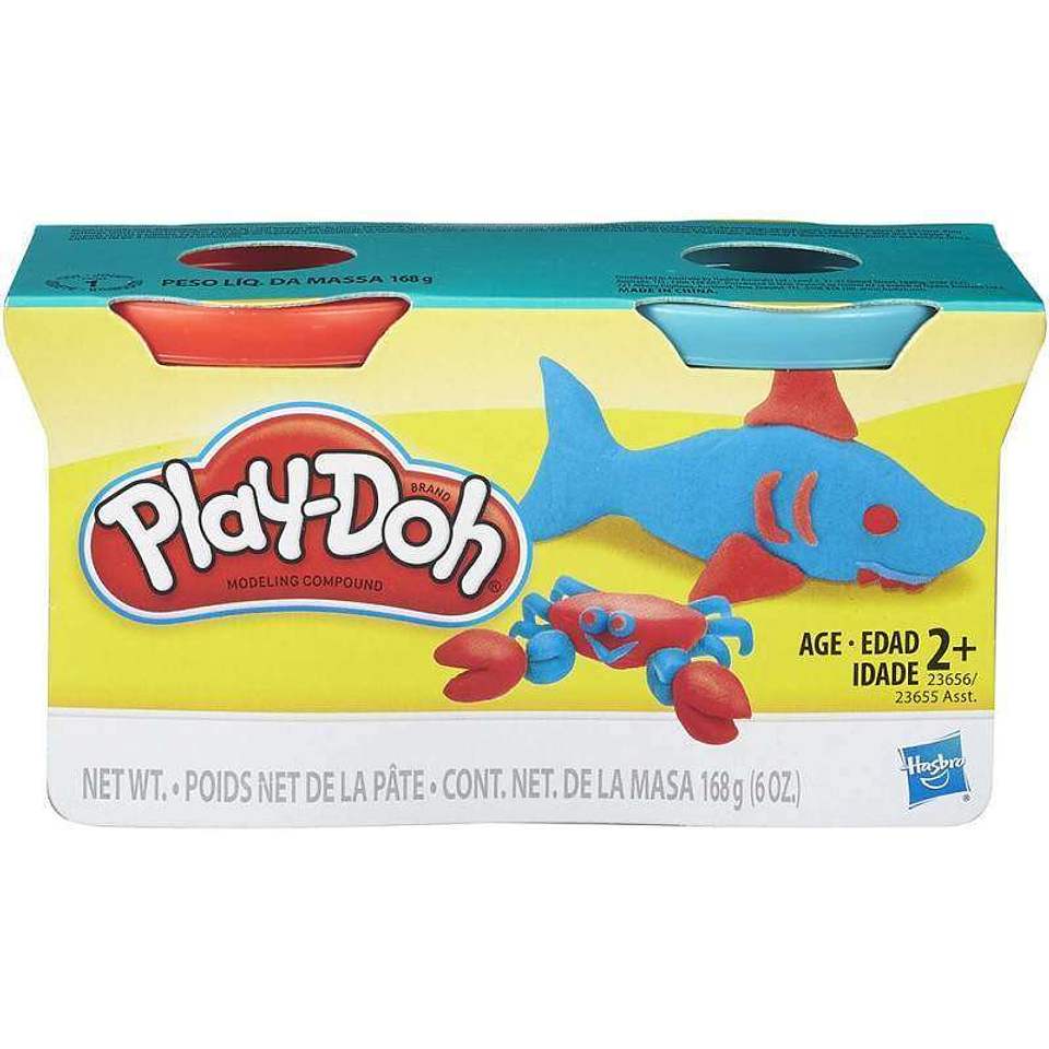 Play Doh Neón Empaque x 2