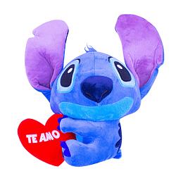 Peluche Stitch Abrazo Corazón
