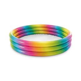 Piscina Tres Anillos Multicolor Intex