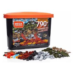 Mega Contrux Caja De Construcción Pro De 790 Piezas