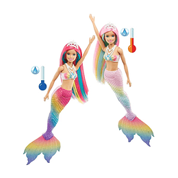 Barbie Sirena Arcoíris Mágico