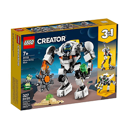 Lego Creator 3 En 1 Meca Minero Espacial
