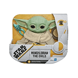 Star Wars The Mandalorian Baby Yoda The Child Peluche Con Sonidos