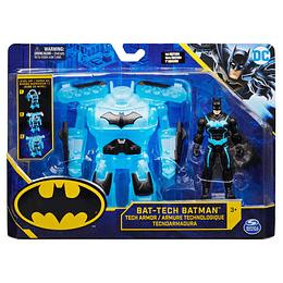 "Batman Bat Tech Figura De Lujo 4"" Transformable"