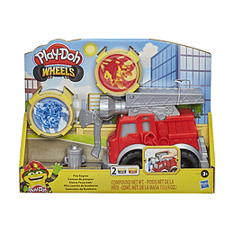 Play Doh Wheels Mini Camión De Bomberos