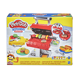 Play Doh Kitchen Creations Super Barbacoa