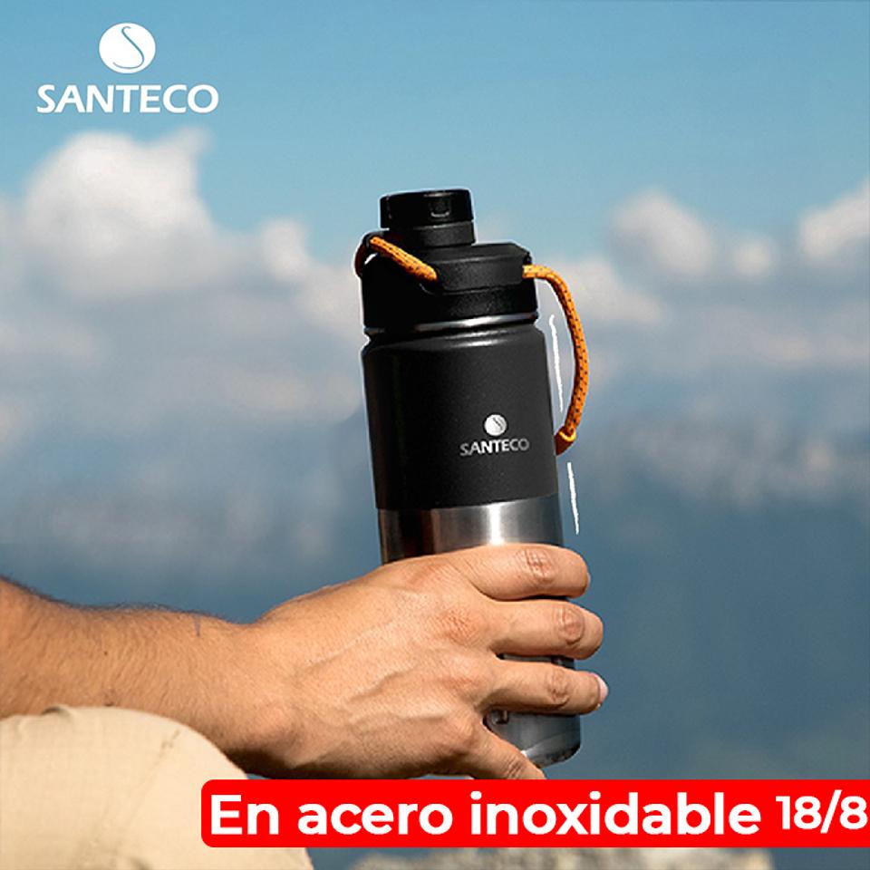 Termo Santeco Ktwo Carbón Black 500 Ml