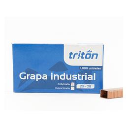 Grapa Industrial 23-08 Tritón