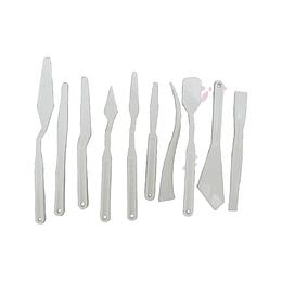 Espátulas Plásticas x 10 Unidades