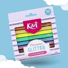 Marcadores Glitter X 10 Unidades