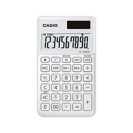Calculadora Casio Bolsillo Blanca
