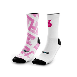Calcetines Deportivos Trithlete Pink 10-12