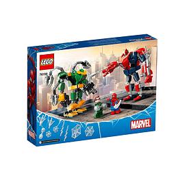 Lego Spider-Man Vs Doctor Octopus Batalla De Mecas