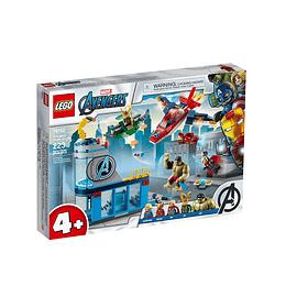 Lego Marvel Vengadores Ira De Loki