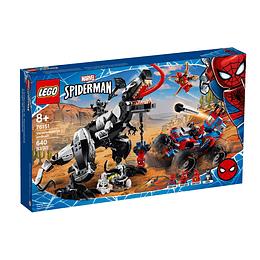 Lego Marvel Spider Man Trampa Del Venomosaurio
