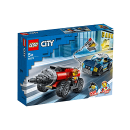 Lego City Policía De Élite Persecución De La Perforadora