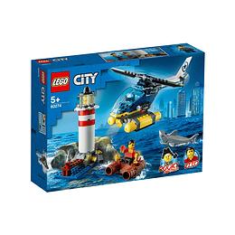 Lego City Policía De Élite Detención En El Faro