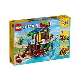 Lego Creator 3 En 1 Casa Surfera En La Playa
