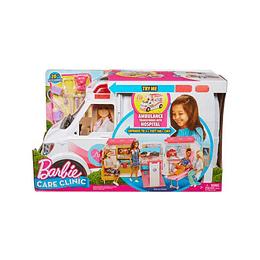 Barbie Hospital Móvil Doctor Y Enfermera Mattel