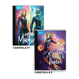 Cuaderno Cosido The Avengers End Game 50 Hojas Cuadros