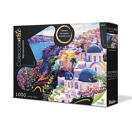 Rompecabezas x 1000 Piezas Colección Santorini