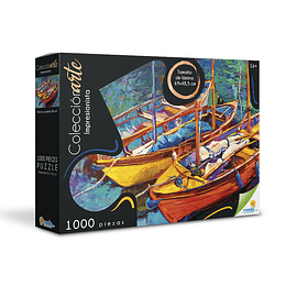 Rompecabezas x 1000 Piezas Colección Barco