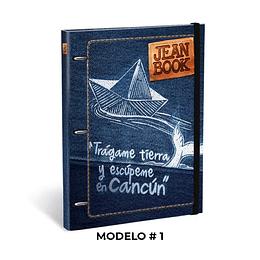 Pasta De Argolla Durabook 105 Jean Book
